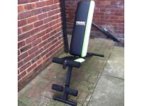 York fitness bench. Multi positional