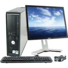 Dell optiplex 755 with monitor keyboard mouse