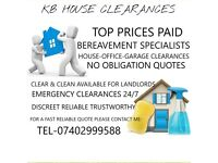 Kb House clearances West Yorkshire