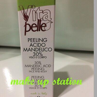 Vitapelle Peeling ACIDO MANDELICO  30%- 30ml ACNE  RUGHE  ESFOLIANTE viso-corpo