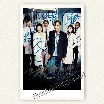 Dr. House -  Cast - Hugh Laurie, Omar Epps, Jesse Spencer  Autogrammfoto [A03] 