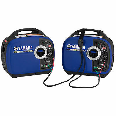 Yamaha Two Ef2000isv2 2000 Watt Generators - Ef2000is Ef2000 - Parallel Kit Inc