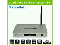 Zoomtak t8h 16gb android tv box kodi 16.1 2gb ram! Sports movies tv shows