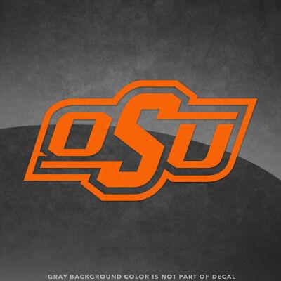 Oklahoma State Cowboys OSU Logo Vinyl Decal Sticker - 4