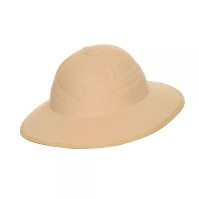 Zoo Keeper Costume Adults (Adults Safari Helmet Hat Pith Explorer Zoo Keeper Fancy Dress Costume)