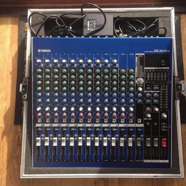 16 channel mixer yamaha mg16 6fx in perth perth and for Yamaha mixing boards