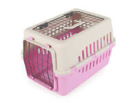 STURDY PLASTIC CAT CARRIER