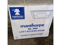Manthorpe GL260 Push-Up Loft Access Door White 562 x 562mm new