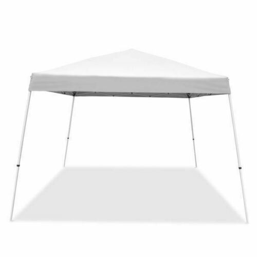White 12x12 Outdoor Portable Canopy Tent Shelter Sun Shade C
