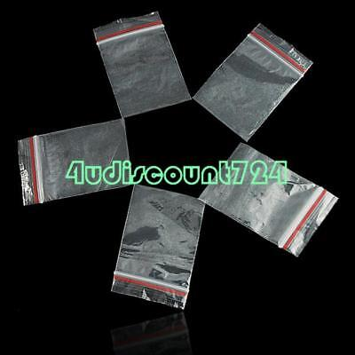100pcs/Pack Zip Sealed Bags Resealable Plastic Clear Zip Lock Bags 4x6CM 01F3