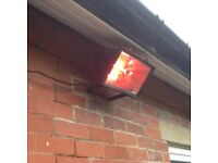 OUTDOOR WALL MOUNTED HEATER