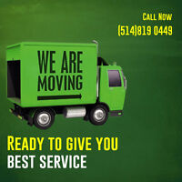 Montreal's Best Movers At Your Service