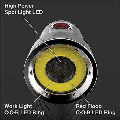 Nebo 6437 Cryket 3-in-1 Work Light Spot Flood Light Swivel Head Magnetic Base