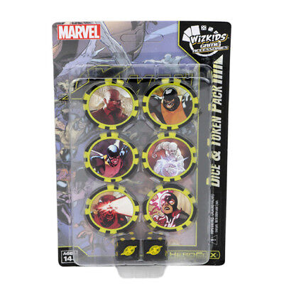 WizKids Games HeroClix - X-Men - Xavier's School - Dice & Token Pack