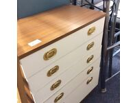 5 drawer chest of drawers #31860