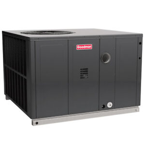 3 Ton 14 Seer 80k Btu Goodman Air Conditioner Gas Package Unit Multiposition