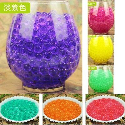 6000pcs Water Plant Flower Jelly Crystal Soil ...