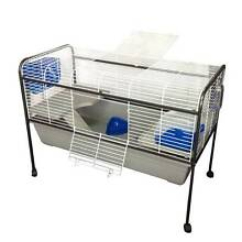 Warehouse pickup 122cm rabbit hutch cage with stand Riverwood Canterbury Area Preview