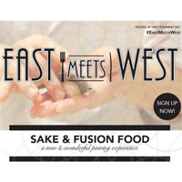 EAST MEETS WEST - fusion food and great sake pairing -