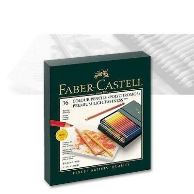 Faber Castell Box ((1,36€/Stift) Polychromos Künstlerfarbstift 36er Atelierbox Faber-Castell 110038)