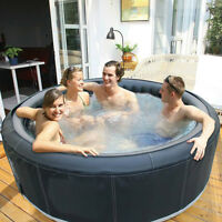 4 Person Inflatable Indooor/Outdoor Hot Tub