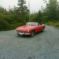 1973 Convertible MGB with Hardtop