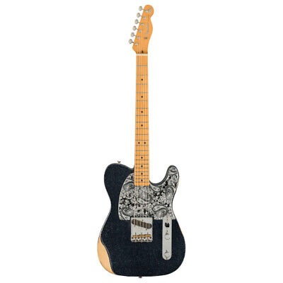 FENDER Brad Paisley Road Worn Esquire MN BK SPKL ❘ E-Gitarre ❘...