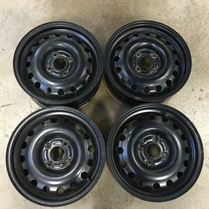 Set of 14 inch wheels.   4 X 100