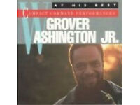 MUSIC CD GROVER WASHINGTON JR. AT HIS BEST COMPACT COMMAND PERFORMANCE LOOK MOTO