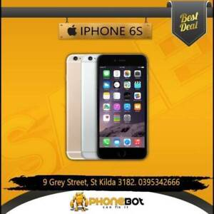 Excellent condition iPhone 6s 64 GB network Unlocked @ Phonebot St Kilda Port Phillip Preview