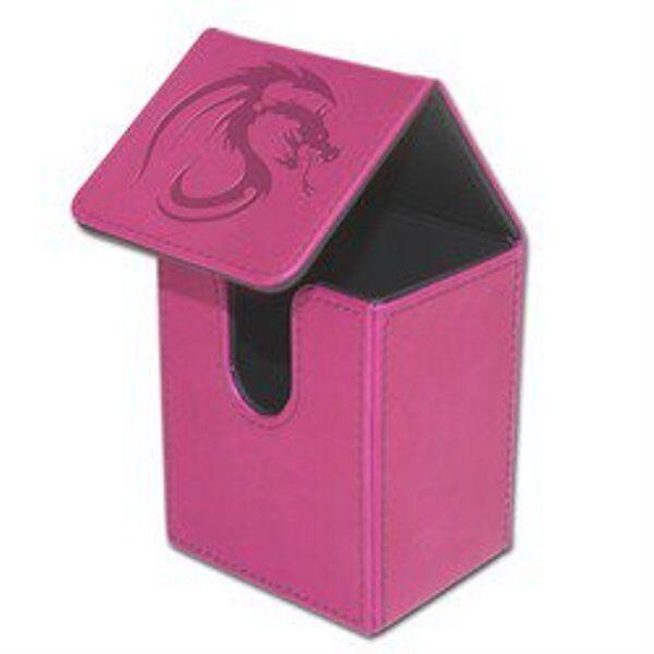 1 BCW Deck Case LX WHITE MTG CCG Pokemon Protector Storage Box