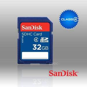 Free Delivery: SANDISK SDHC SDB 32GB CLASS 4 Moorebank Liverpool Area Preview