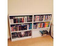 White DVD/CD/Ornament/Book shelf
