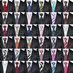 200PCS-Luxurious-Mens-Tie-100-Jacquard-Woven-Silk-Ties-Necktie-from-500-Styles