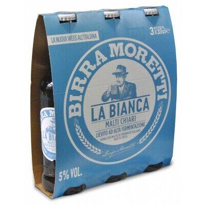 BIRRA MORETTI LA BIANCA CL.33 cartone 24pz