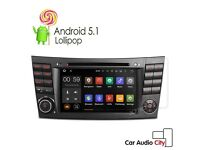 """Mercedes-Benz 8""""Inch Hd internet Dvd Stereo Gps Android Sat naw 4G For -Benz E/CLS/G Class W211"""