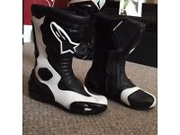 Alpinestars Stella S-MX 5 Women's Motorcycle Riding Boots Size 36