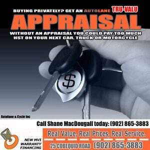 Vehicle Tax Appraisals, We do them. Pay tax on the proper amount