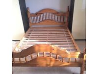 Double Solid pine bed