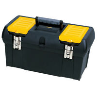 "Stanley 19"" Tool Box with Metal Latches"