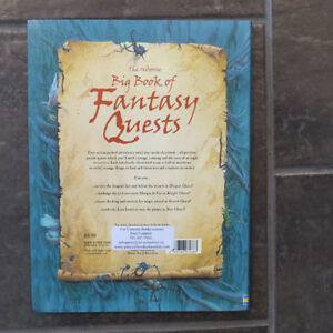 The Usborne Big Book of Fantasy Quests Kitchener / Waterloo Kitchener Area image 2