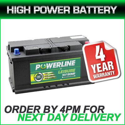 Brand new leisure battery 4 year g-tee XV190