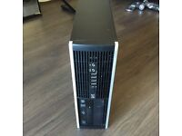 Hp Elite Pc intel i5 vPro 3.2Ghz quad core 8GB Ram 500GB HDD win 7 pro office 2007 pro