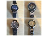 Rolex, Armani, Hublot, Breitling. Great quality watches. Best price.