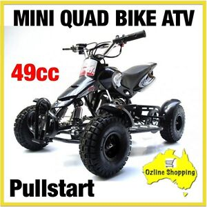 QUAD BIKE NEW ATV 49CC MINI 4 WHEEL BUGGY KIDS RIDE ON FUN TOY 55KM/HR AUTOMATIC