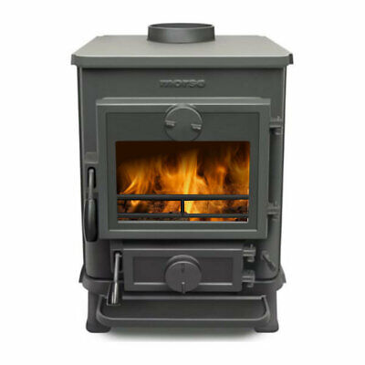 New Morso Squirrel 1410 Solid Multi Fuel Stove, Woodburner, 4.5kW