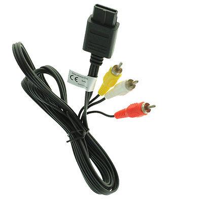 Videokabel AV TV zu Nintendo SNES / Super NintendoSuper Famicom / N64 / GameCube