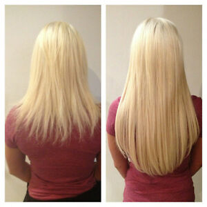 Luxury Mobile Glam Girl Hair Extensions Serving Edmonton & Area