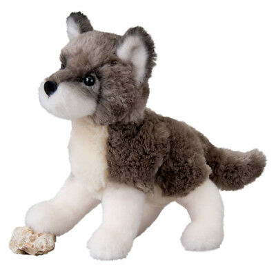 Douglas ASHES WOLF plush Toy 7.5