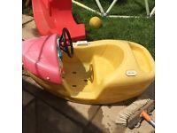 Little tikes rocking boat